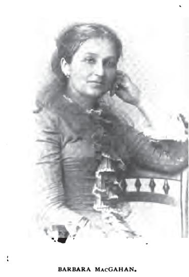 Photo of Barbara MacGahan, 1893