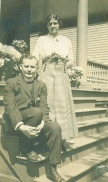 Fr. Joseph Stephanko with his wife Anna