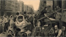 """The Syrian Colony, Washington Street,"" by W. Bengough"