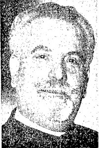 Fr. Joseph Xanthopoulos (photo from Lowell Sun, Sept. 29, 1937)