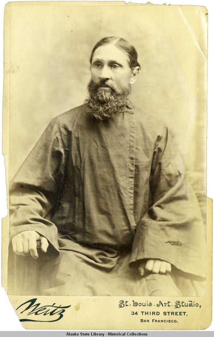 photo of unidentified san francisco priest orthodox history. Black Bedroom Furniture Sets. Home Design Ideas