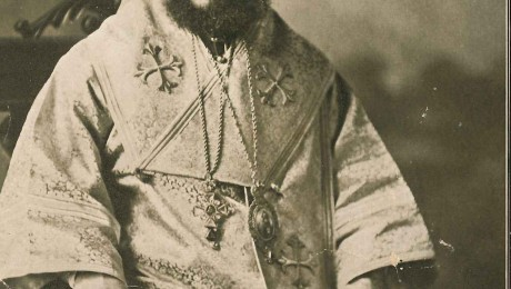 Archbishop Victor Abo-Assaly (photo from the collection of Sam Namee)