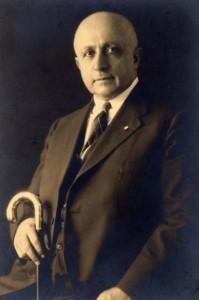 Naoum Mokarzel, editor of Al Hoda (photo from University of Minnesota library)